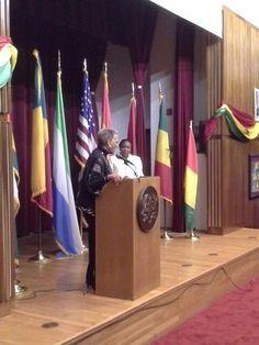 Dr. Johnetta B. Cole, Dir. National Museum of African Art