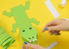 Raise your hands if you are a fan of crocodiles! Well or at least cute paper crocodile craft projects, as we have a super fun one to share with you today! This is a great one to do with your kids, especially if they are working on their scissor skills as there is lots of …