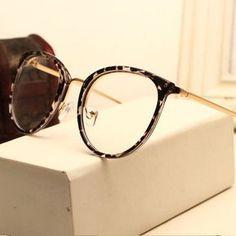 81e0e9acd6e Vintage Decoration Optical Eyeglasses Frame myopia round metal men women  unisex spectacles eye glasses Eyeglasses Frames