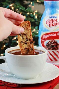 Toffee Chocolate chip Biscotti Recipe