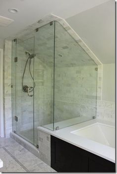 Love this shower/tub but not sure about all of the tile.