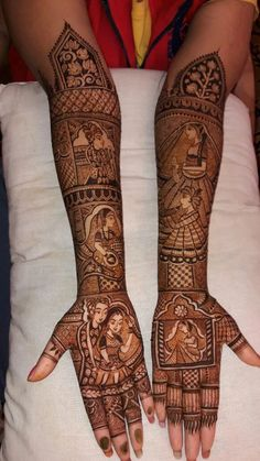 Mehandi Designs For Bridesmaid - Wedamor Mehndi Designs Bridal Hands, Mehandhi Designs, Engagement Mehndi Designs, Back Hand Mehndi Designs, Legs Mehndi Design, Mehndi Designs Book, Mehndi Design Pictures, New Bridal Mehndi Designs, Dulhan Mehndi Designs