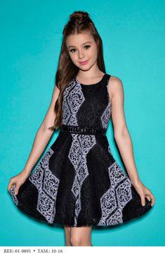 Vestido Infantil Diforini Moda Infanto Juvenil 010891 - comprar online