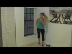 ▶ 10 Minute Toning Walk - Power Interval Walk with Dumbbells for Beginner Weight Loss - YouTube