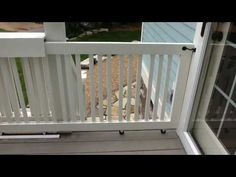 15 Sliding Gate For Deck Materials From Lowe 39 S Youtube