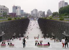 Ewha Womans University / Dominique Perrault Architecture - Seoul, Korea