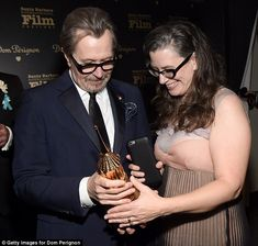 Gary Oldman wins at Santa Barbara Film Festival  He is an indomitable force of the acting world and the favourite to win the Best Actor gong at this years Oscars.  And Gary Oldman added another accolade to his already brimming trophy cabinet as he picked up theMaltin Modern Master Award at The Santa Barbara International Film Festival on Friday.  This came as his ex-wife Donya Fiorentino spoke out about her nightmare marriage to the star claiming he yelled at me constantly ruined my life and…