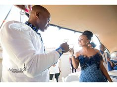 A Stylish Tswana Wedding- Bontle bride features real south african weddings with a flair of culture plus wedding tips, ideas and advice African Wedding Attire, African Attire, African Dress, Wedding Tips, Wedding Blog, Wedding Gowns, Seshweshwe Dresses, Zulu Traditional Wedding, South African Weddings