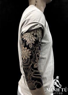 Cool Half Sleeve Tattoos, Leg Tattoos, Full Tattoo, Japanese Tattoo Designs, Irezumi, Tattoo Studio, Tatting, Toronto, Cover Up