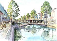 Westchase Long-range Master Plan   Powers Brown Architecture