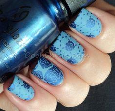 Scandalous blue roses