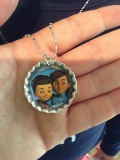 Daughter wanted Caleb and Sophia necklace, perfect for international, making extras to take with us.