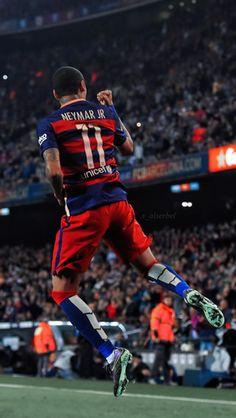 Neymar Jr #Neymar #Barcelona #Celebration