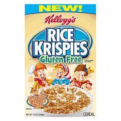Best Brands for Kids With Food Sensitivities: Kellogg's Rice Krispies (Gluten Free) (via Parents.com)