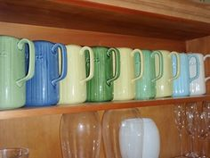 collection of McAlpine jugs