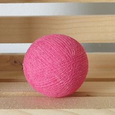 Sweet Pink color cotton ball for 100 balls String Lights, Pink Color, Lanterns, Indoor, Cotton, Handmade, Decor, Decorating, Interior