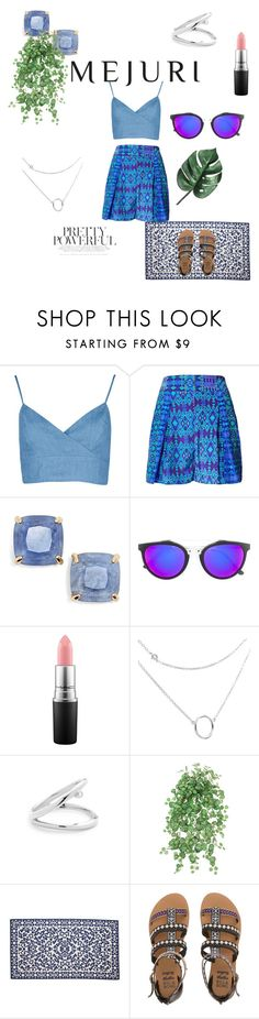 """""""Make your outfit POP!"""" by castawayamber ❤ liked on Polyvore featuring Matthew Williamson, Kate Spade, RetroSuperFuture, MAC Cosmetics, Elaiva, Billabong, contestentry and jenchaexmejuri"""