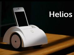 Turn your iPhone into a mobile telepresence robot with Helios by Tian Long Wang l #kickstarter