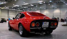 Red Opel GT
