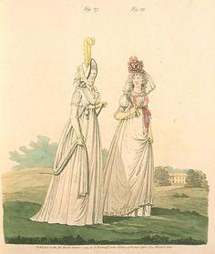 October 1794. Morning Dresses.