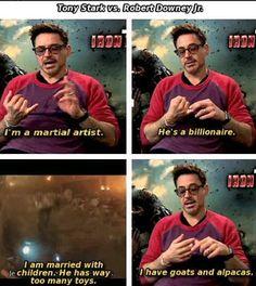 Stark vs. Downey