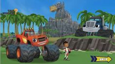 Blaze and the Monster Machines gameplay permainan