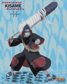Poster Naruto Shippuden Kisame