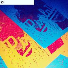 Primeras serigrafías 2016. #puertnorteserigrafía