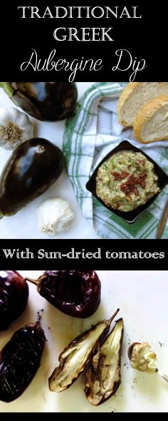 Smoked Aubergines combined with garlic, vinegar, sun-dried tomatoes, and parsley. A truly appetizing dip you have to try!
