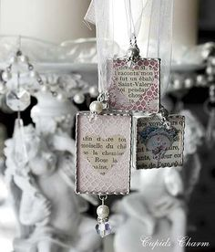 Cupids Charm - Notes From A Charmed Life: Valentine Soldered Charms Now Available!