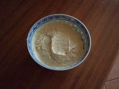 Crème de Brocolis {avant de découvrir cette #recette je n'utilisais pas le tronc des brocolis et depuis il n'y a pas 1 seul tronc de brocoli qui ne fini pas en crème ;D un vrai délice, je vous conseille vivement d'essayer - il m'arrive d'y ajouter 1 yaourt de soja, du gomasio, des graines, de la levure alimentaire et souvent une bonne dose d'ail. J'avoue par contre ne + mettre d'huile car le tahini suffit.}