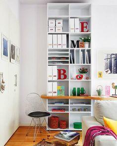 Kleine Wohnung einrichten - die Raumhöhe benutzen und Platz sparen