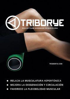 Rodillo masaje deportivo www.triborye.com