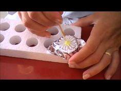 Como hacer Flores de Glasé. Profesora Adriana Bologna
