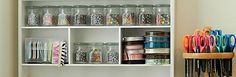 Cute Storage Ideas for the Craft Room :: Hometalk
