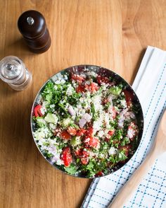 Cauliflower Rice Tabbouleh Salad Recipe