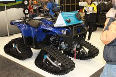Camoplast makes a great set up for both ATV and UTV applications. They are the only track manufacturer that offers changeable drive sprockets to get the right ratio for how you ride.