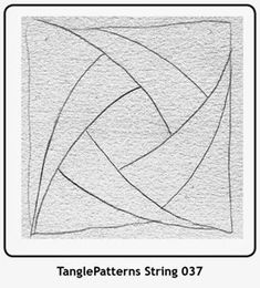 The Zentangle® Method by Janet Masey - CZT (Certified Zentangle Teacher) Optical Illusions Drawings, Illusion Drawings, Doodles Zentangles, Zentangle Patterns, Quilting Templates, Quilting Designs, Straight Line Quilting, Doodle Art Designs, Stained Glass Patterns