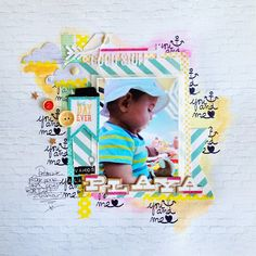 SKC kit de juillet - La playa de Soraya - Scrap Kits & Co