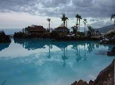 Lago Martiánez - Tenerife.