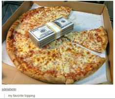 My favorite topping
