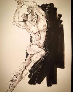 STUDIO LRCR - Faune qui dance #art #arte #illustration...