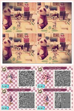 Totoro Sweater. qr codes. #acnl