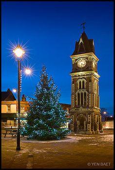 Clock Tower, Newmarket, England.