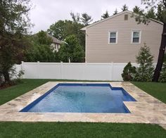 "We're celebrating another family enjoying their new ""life of leisure"" with our recent installation of another Leisure Pools ""Elegance"" fiberglass swimming pool in the New Jersey area. Are you ready for your life of leisure? Then call us at (855) 55-SPLASH."