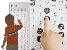 2014 Bubble Wrap Calendar. The most satisfying calendar of all time.