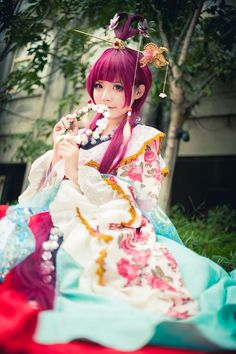 Ren Kougyoku | MAGI: The Labyrinth of Magic #cosplay #anime