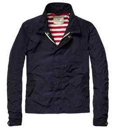 Scotch Soda Short Nylon Jacket with Jersey Lining   eBay
