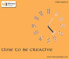 Time to be #Creative !! #MarkupDesigns creates your #Web reputation !!  www.markupdesigns.com  #WebDesigning #WebDevelopment #WebsiteDesigning