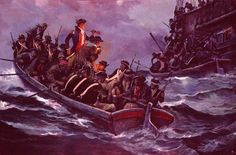 Attack on Whitehaven by Charles Waterhouse, John Paul Jones attacks Whitehaven, England, the only attack on the British homeland during the American Revolution and the first invasion of England in 700 years.
